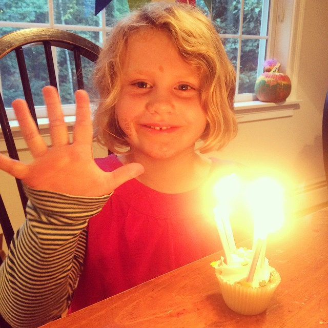 Love this 5 year old with my whole heart. Happy Birthday Lucy, we are so lucky to be your family.??❤️❤️❤️??