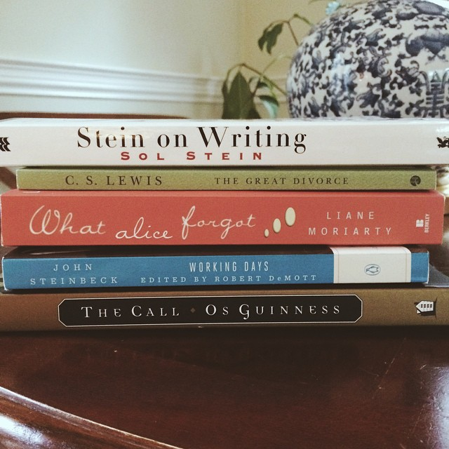 I love getting a new shipment of books! Thanks to @lifeingrace for the reading list. #amazonismyfix #longfallweekendwithouthubs #vscocam