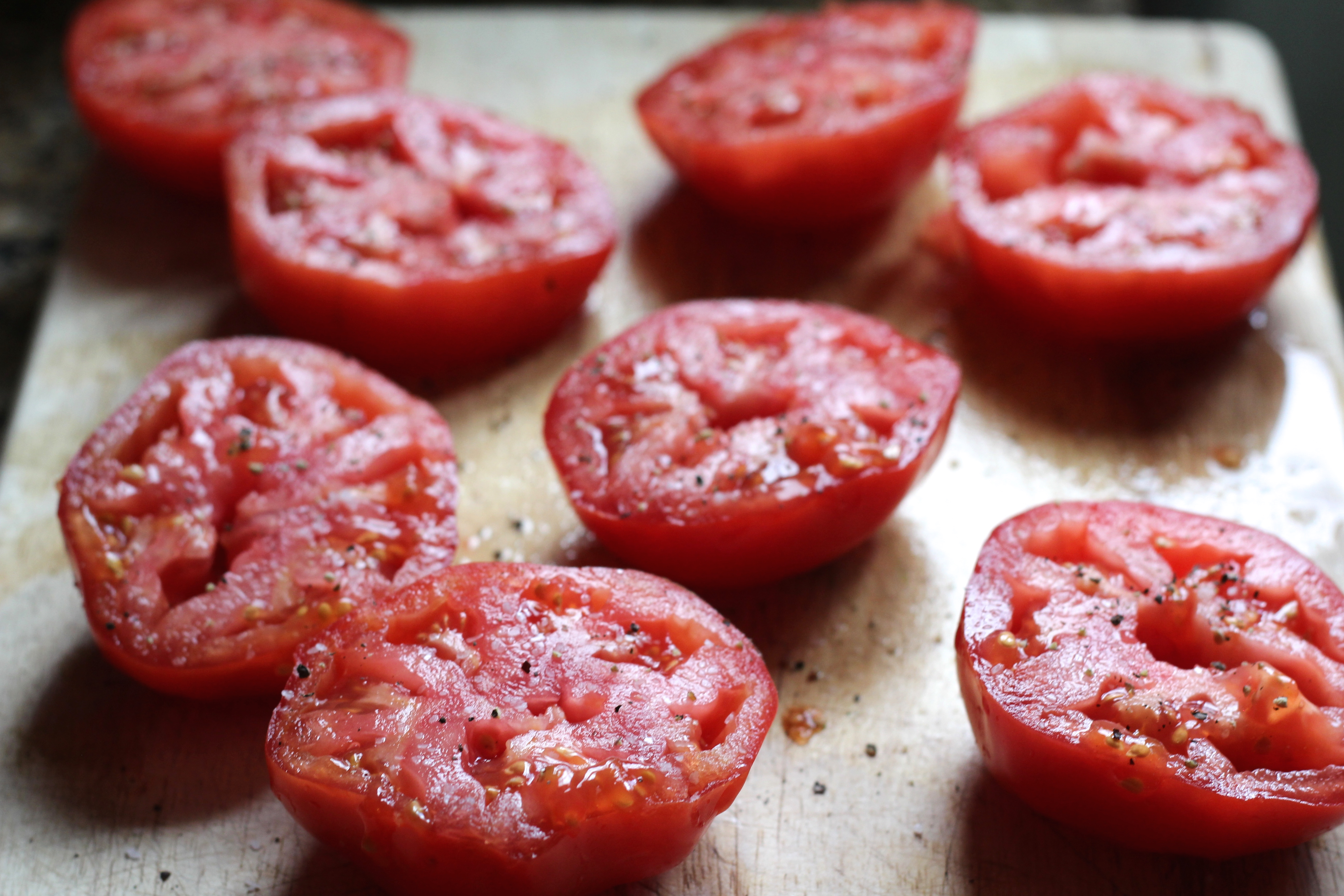 Tomatoes Provencal is one of those dishes that is greater then the sum ...