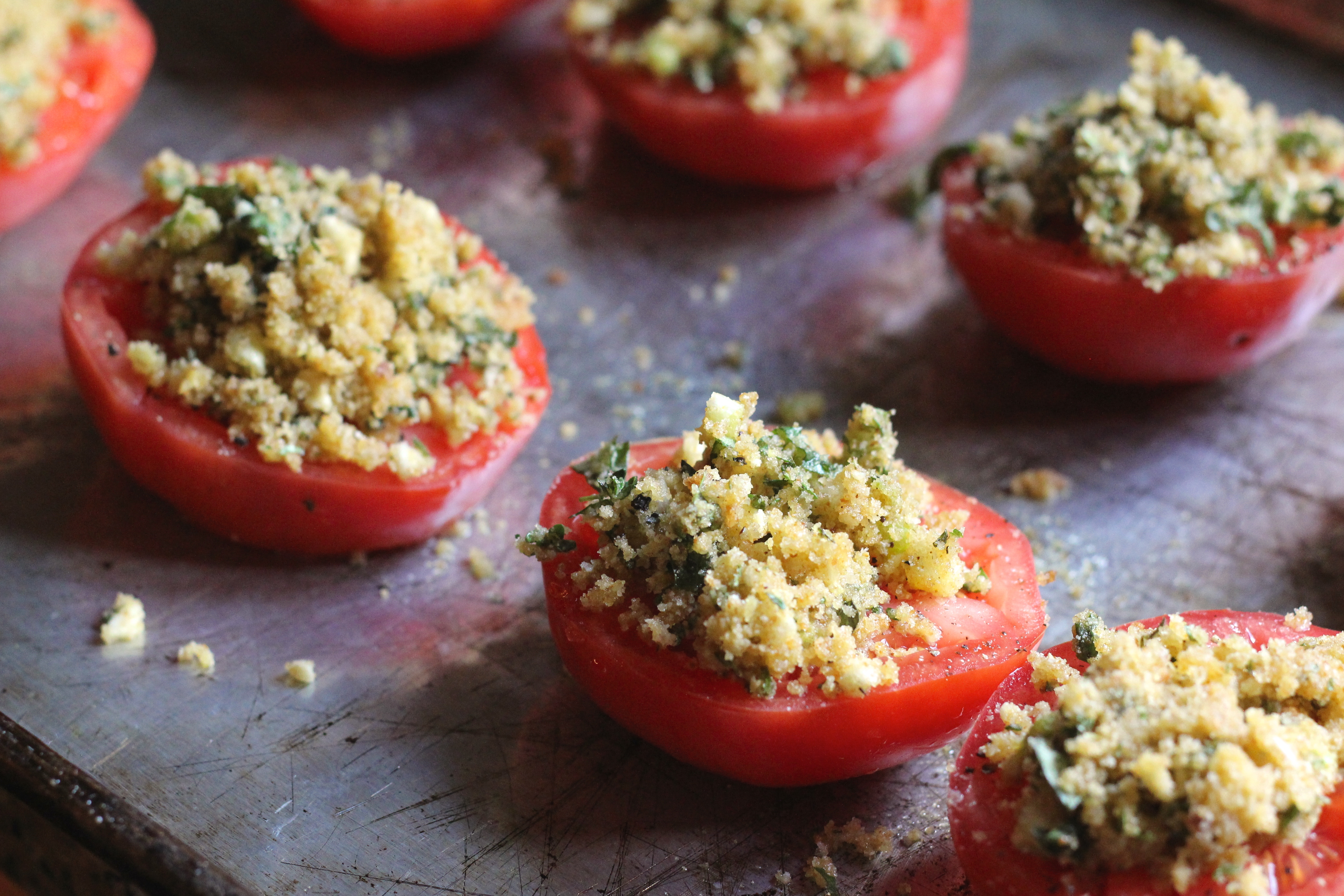 Tomatoes Provencal | Katie Curtis