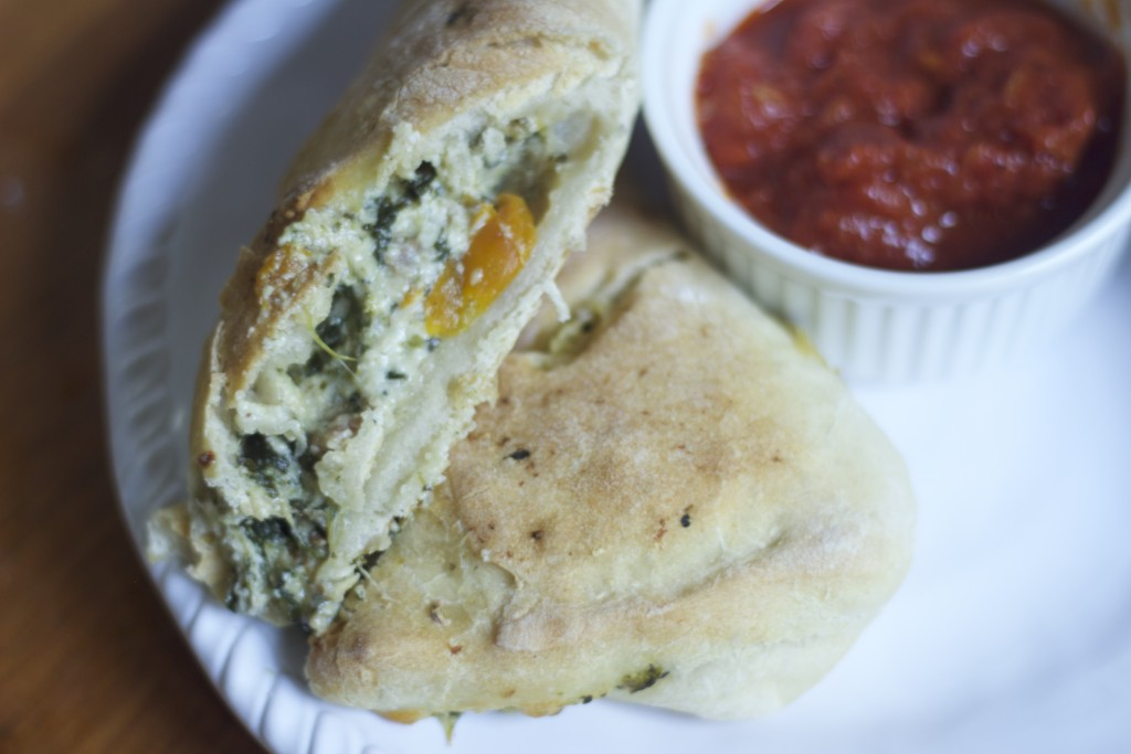... Cheese} or {Turkey, Spinach and Cheese} Calzones | The Humble Onion